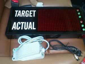 Led-Display-target produksi