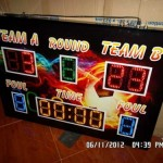 scoring-board-papan skor LED Display