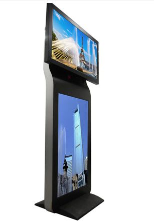 floor stand advertising player 11