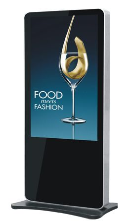floor stand advertising player 4