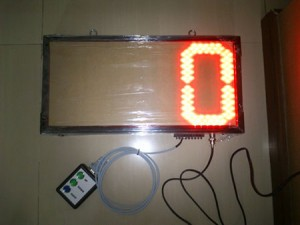 Led-Display-counter produksi