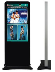floor stand advertising player 2